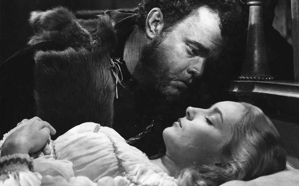Orson Welles in OTHELLO