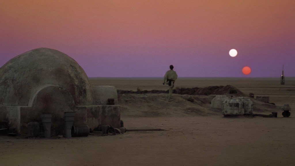 Lukę Skywalker auf Tatooine