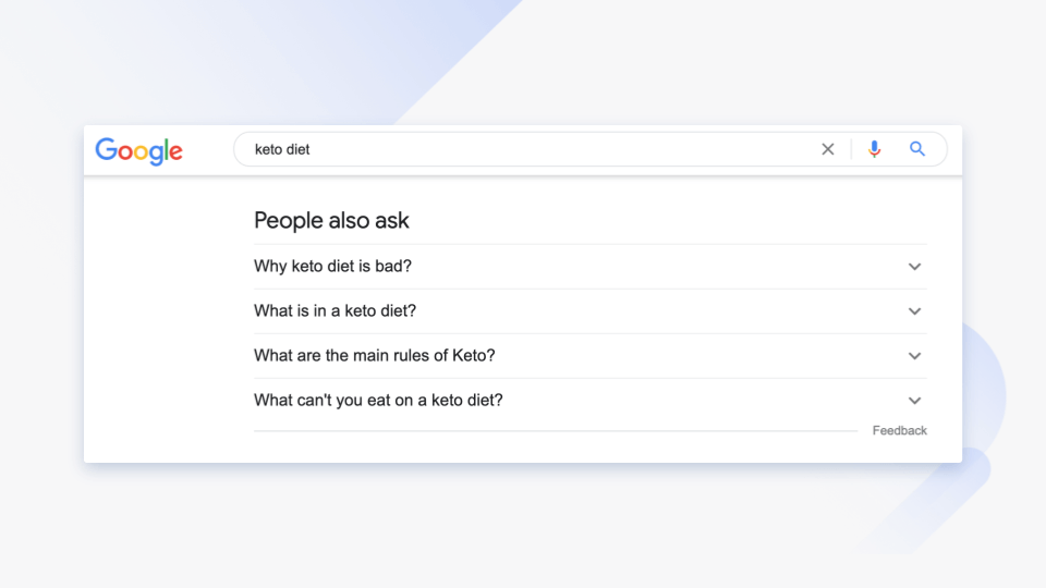 people also ask feature google