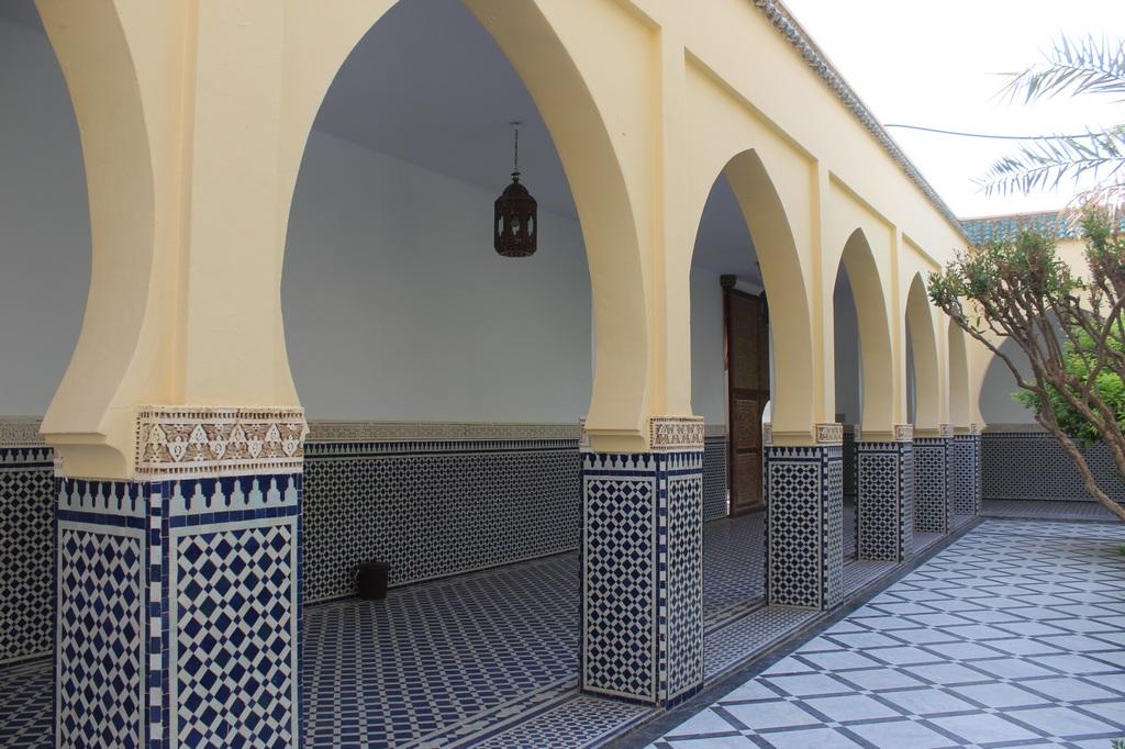Arcos de la mezquita en Rissani