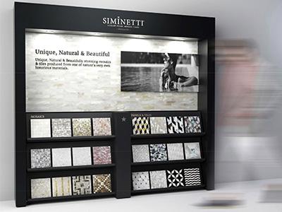 Siminetti Point of Sale Display