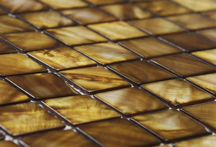 Bronze Mosaic Tiles