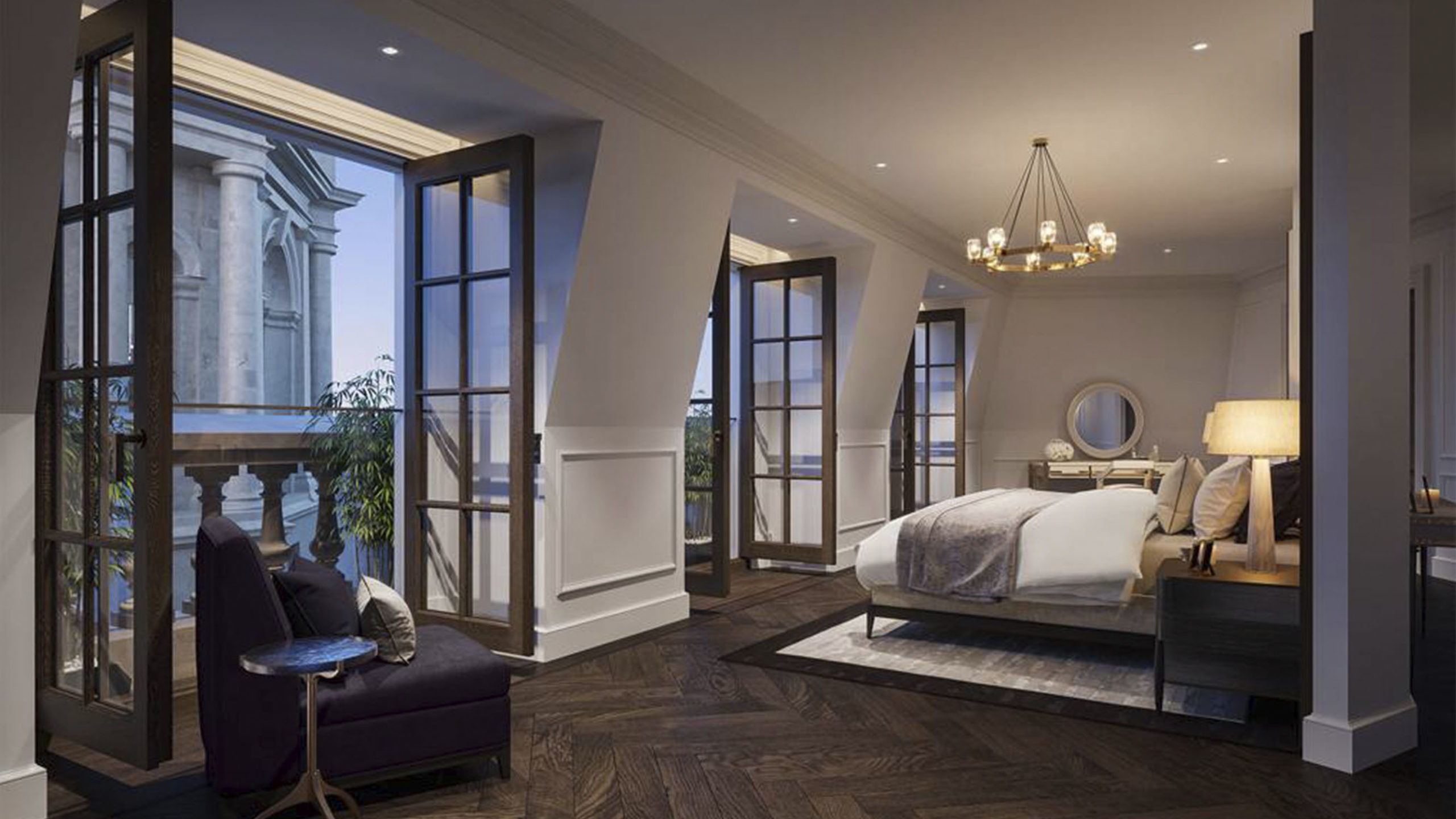 The OWO Residences Master Bedroom