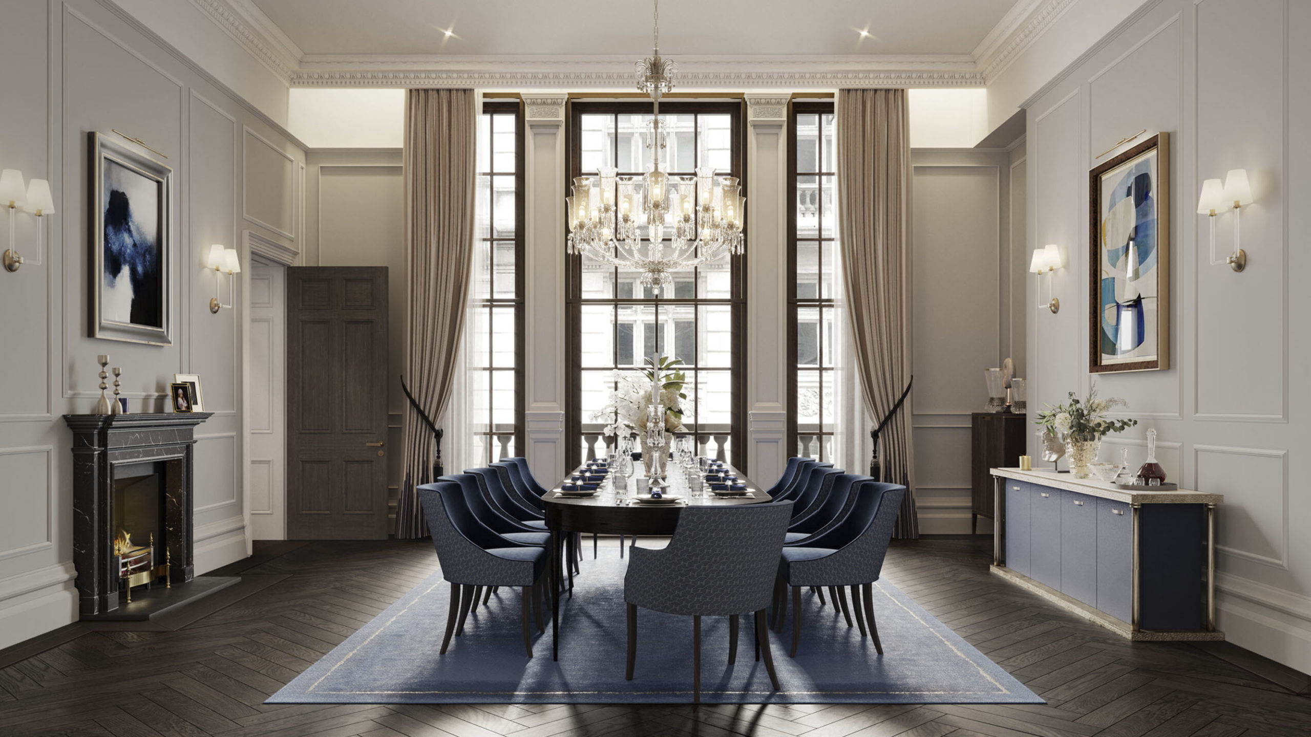 The OWO Residences Dining Room