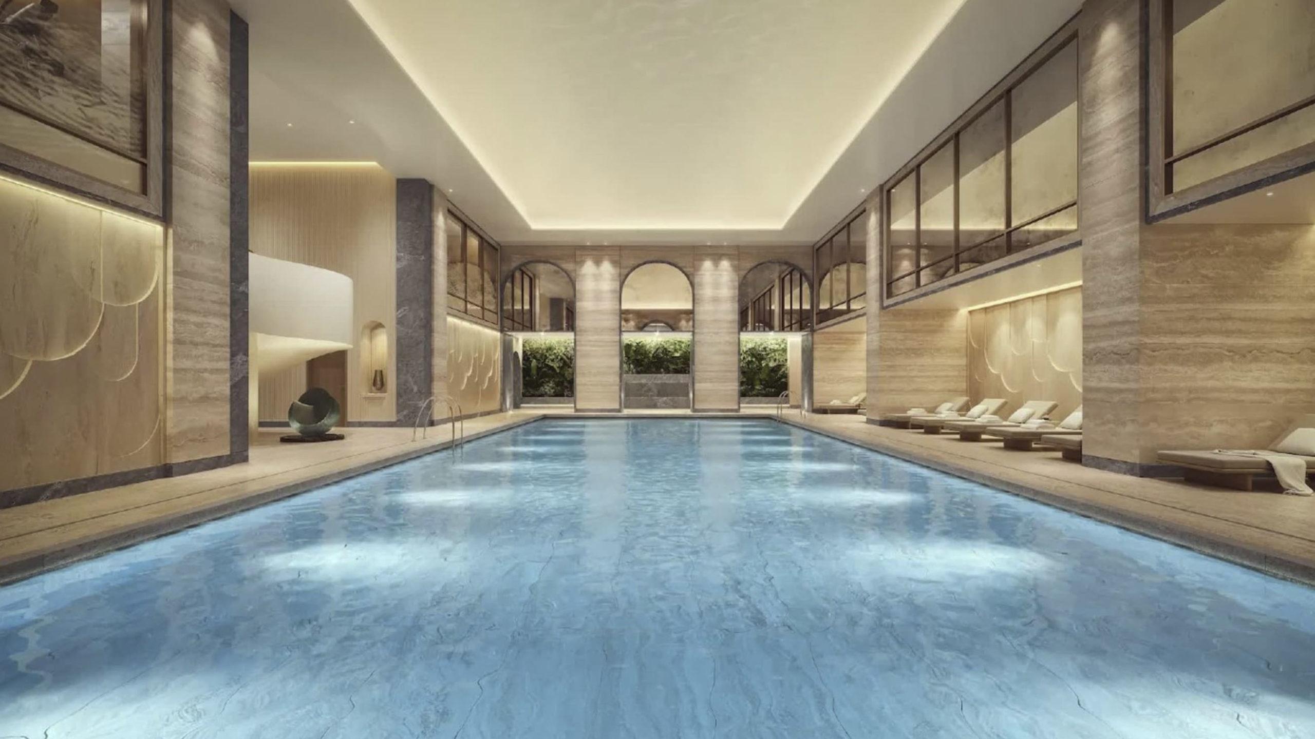 The OWO Residences Swimming pool
