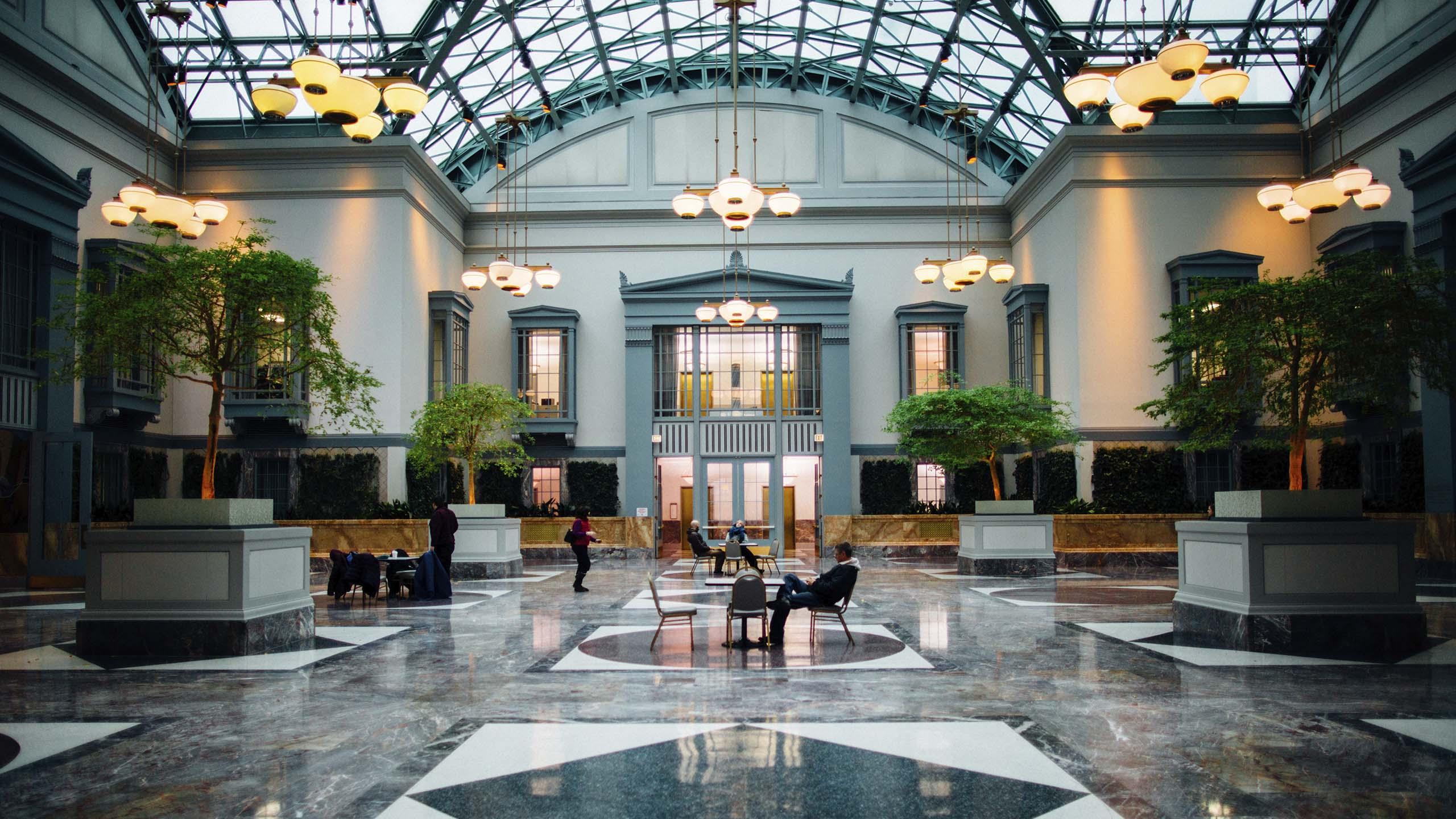 2022 Interior design trends; greenery