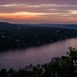 {day 170 project365 2015… mt. bonnell sunset Z}
