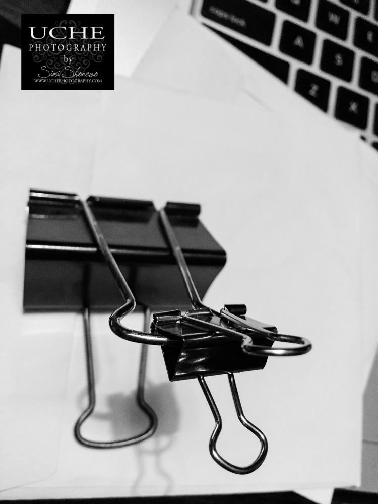 {day 033 mobile365 2016… linked binder clips}