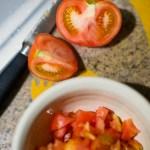 {day 095 project365 2016… tomato prep}