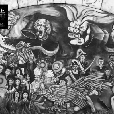 {day 332 project365 2016… guerra de independencia… flores mural}