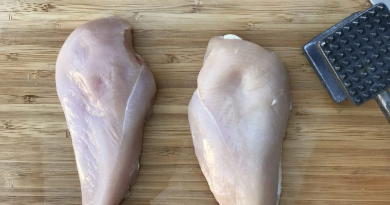 How To Butterfly A Chicken Breast