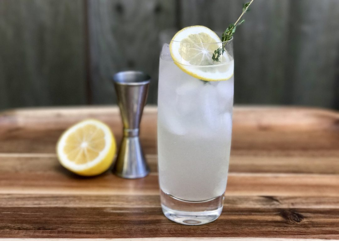 Meyer Lemon Tom Collins: A Modern Twist On A Classic