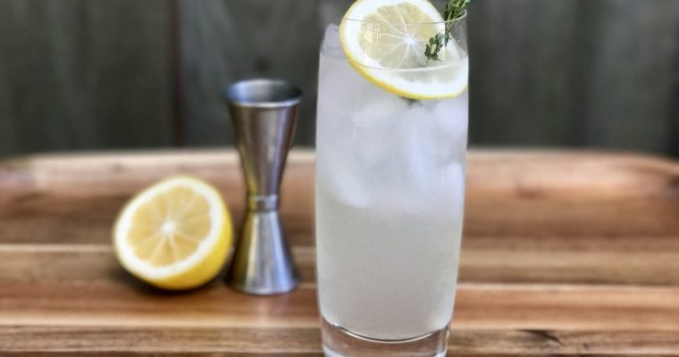 Meyer Lemon Tom Collins: A Modern Twist On A Classic