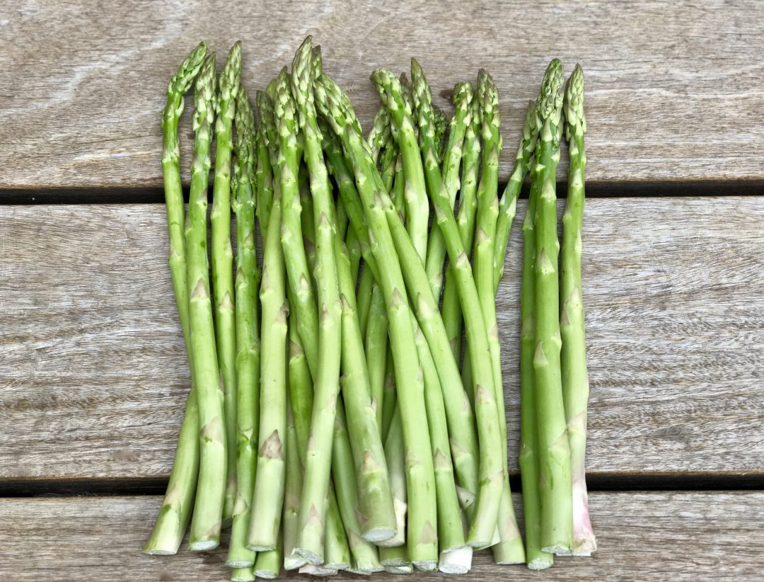 Make Your Vegetables Interesting.  Oven Roasted Spring Asparagus With Gremolata Butter