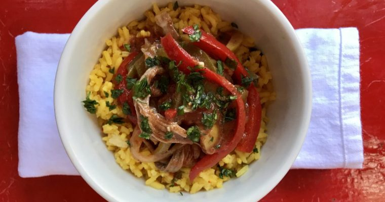 Ropa Vieja, An Easy Make-Ahead Family Dinner