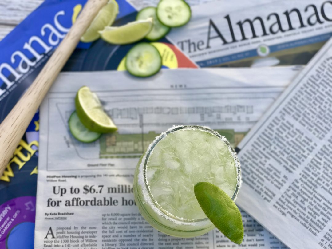 Cheers To The Almanac: This Cucumber-Tequila Cooler Is For You