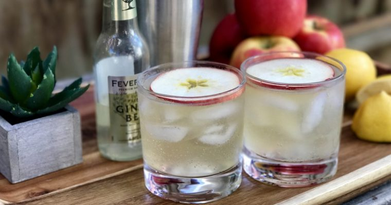 An Apple Gin Fizz Cocktail Is Absolutely Perfect For Fall