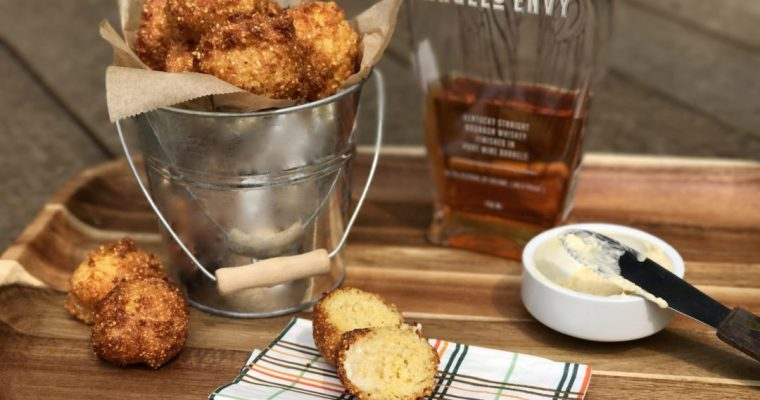 Hushpuppies With Maple Butter, Oh Boy Are They Delicious