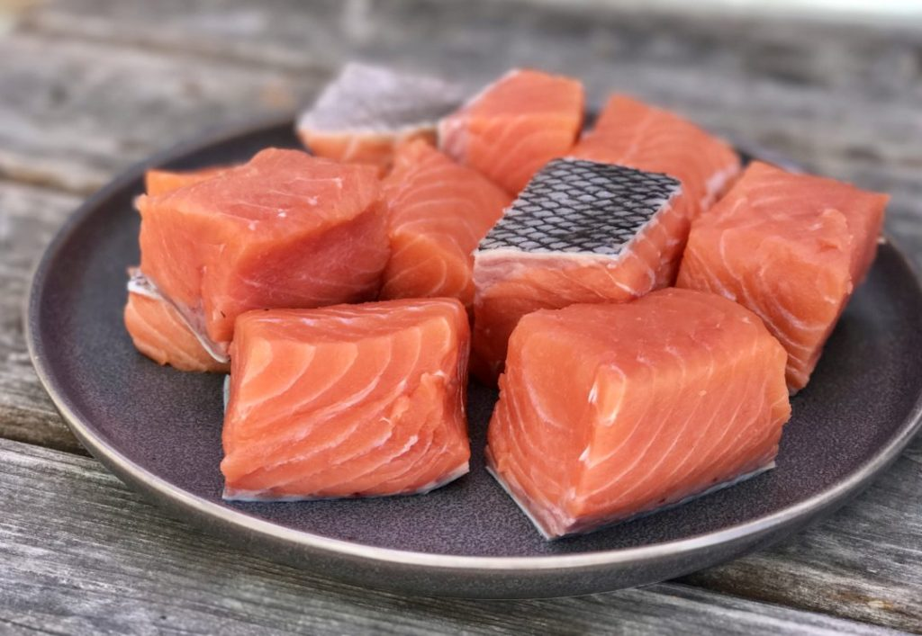 teriyaki king salmon quinoa