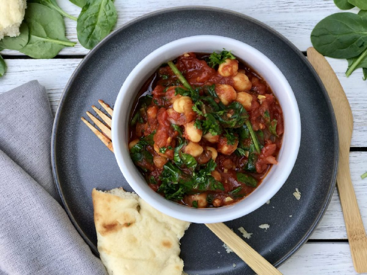 Moroccan Stewed chickpeas