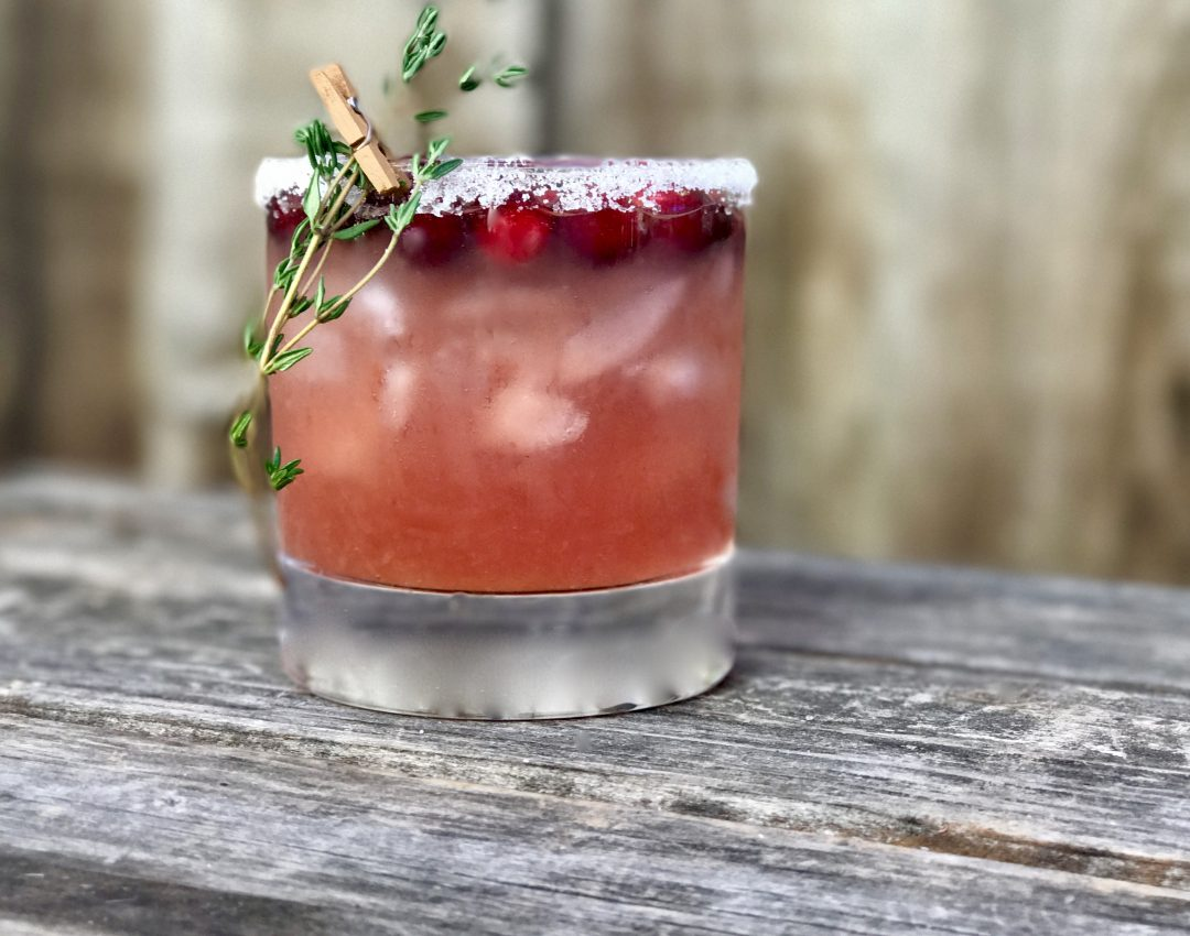 Cranberry-Orange Whisky Sour, A Great Cocktail For The Holidays