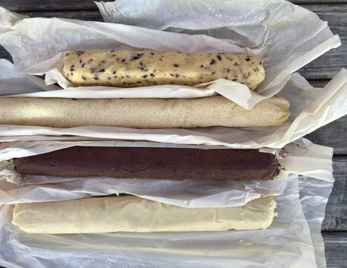 icebox holiday cookies