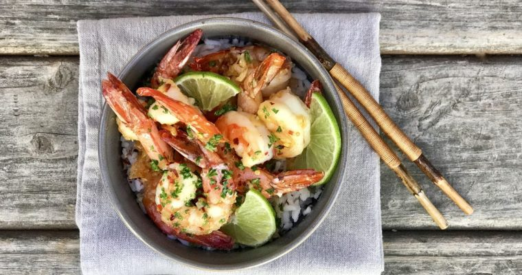 Honey-Lime Shrimp That Takes Only Minutes To Make