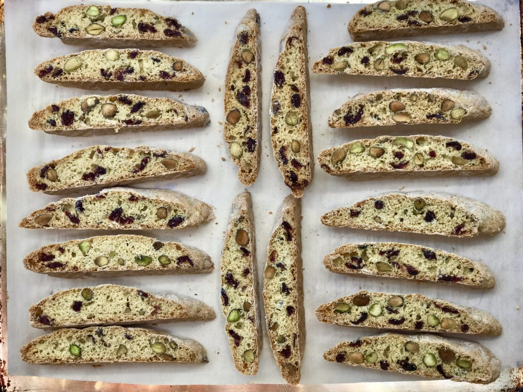 Cranberry-Orange Pistachio Biscotti That I Have Been Making For Years