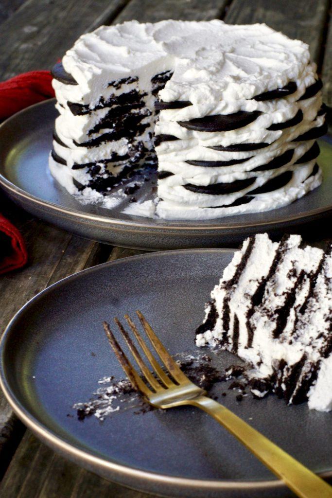 holiday icebox cake