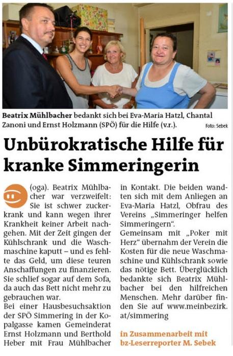 Wiener Bezirkszeitung 14.9.2016