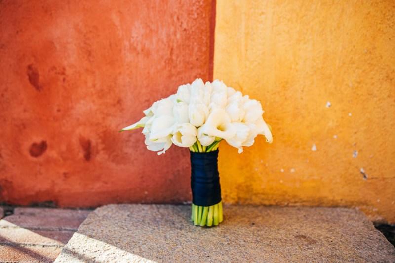 bouquet tuipani e calle
