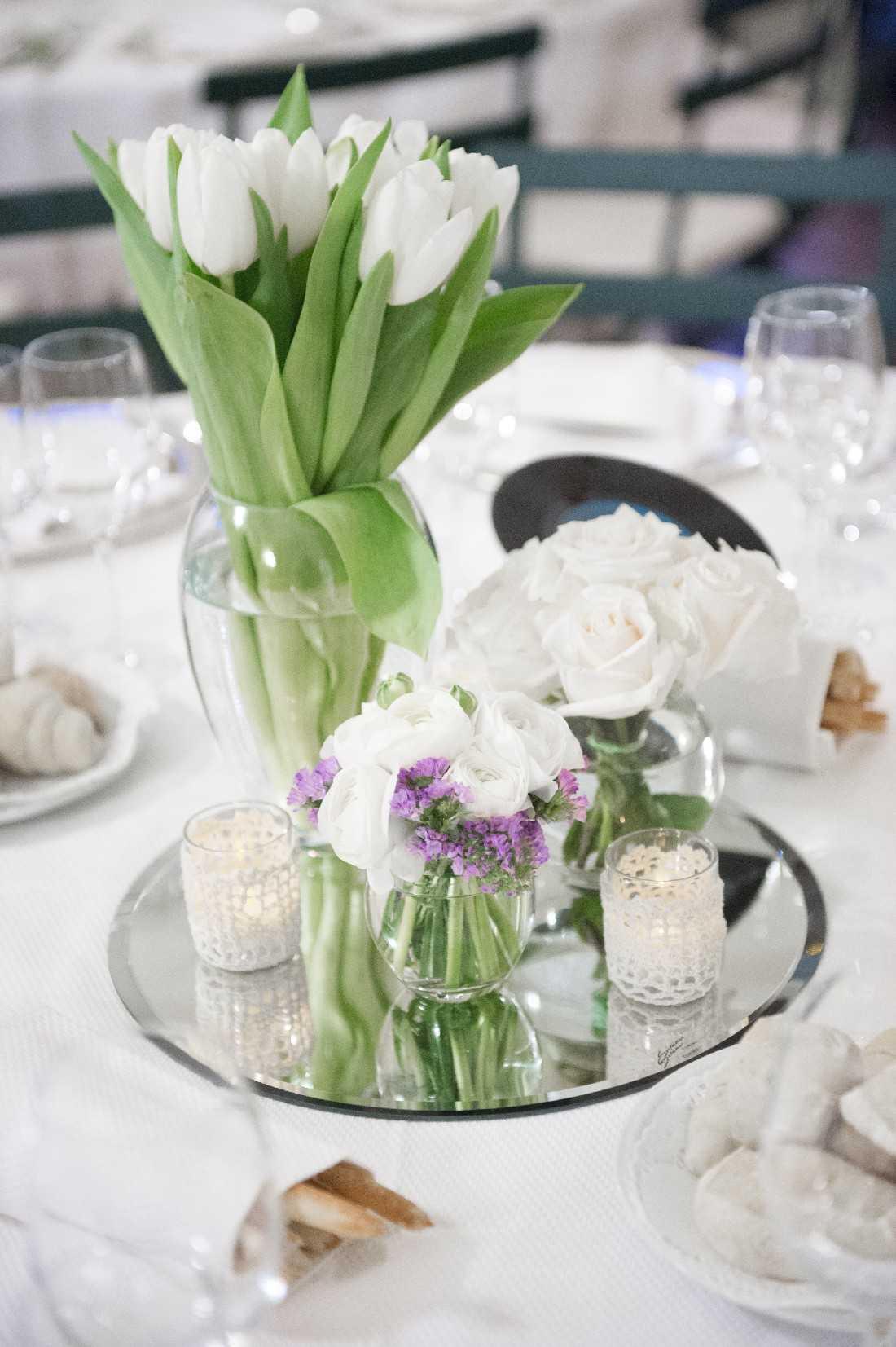 fiori per centrotavola di matrimonio a torino simmi floral