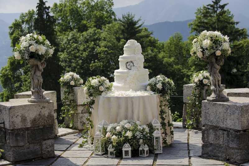 torta sul Lago d'orta, matrimonio sul lago