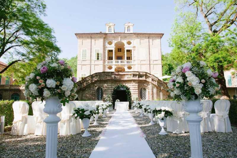 Villa Bria - Rito Civile all'aperto - PH D. Caterino - A. Vargiu: