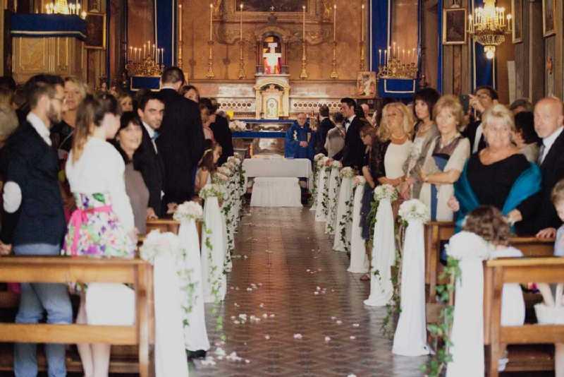 Allestimento Floreale Chiesa di Cavoretto - PH Purewhite: