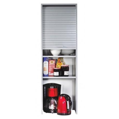 meuble de cuisine aluminium largeur 40 cm hauteur 123 6 cm simmob