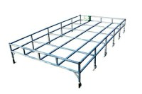 Galvanised Box Section Roof Rack Series - Simmonites