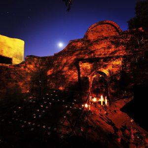 El Tiradito, the shrine for the sinner in Tucson's Barrio Viejo.