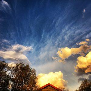Dramatic skyscapes are the norm above Civano.