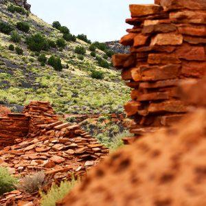 Ancient ruins at Wupatki National Monument in northern Arizona.