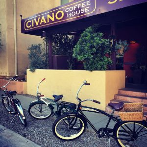 Time for a break at the Civano Coffee House.