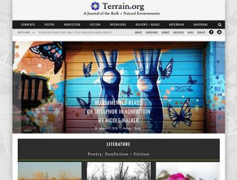 Terrain.org: A Journal of the Built + Natural Environments