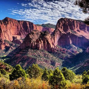 Kolob Canyons in Zion National Park.