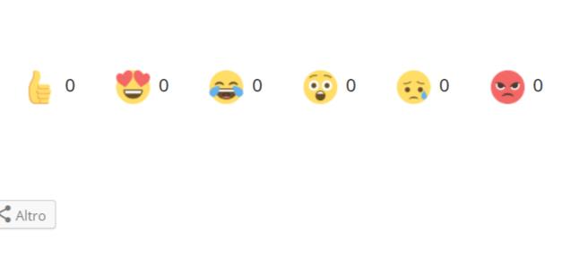 Reactions di Facebook: il nostro blog diventa più social!