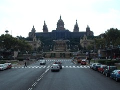 National art museum Catalonia, Barcelona