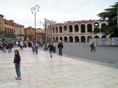 Verona Arena from Piazza Bra