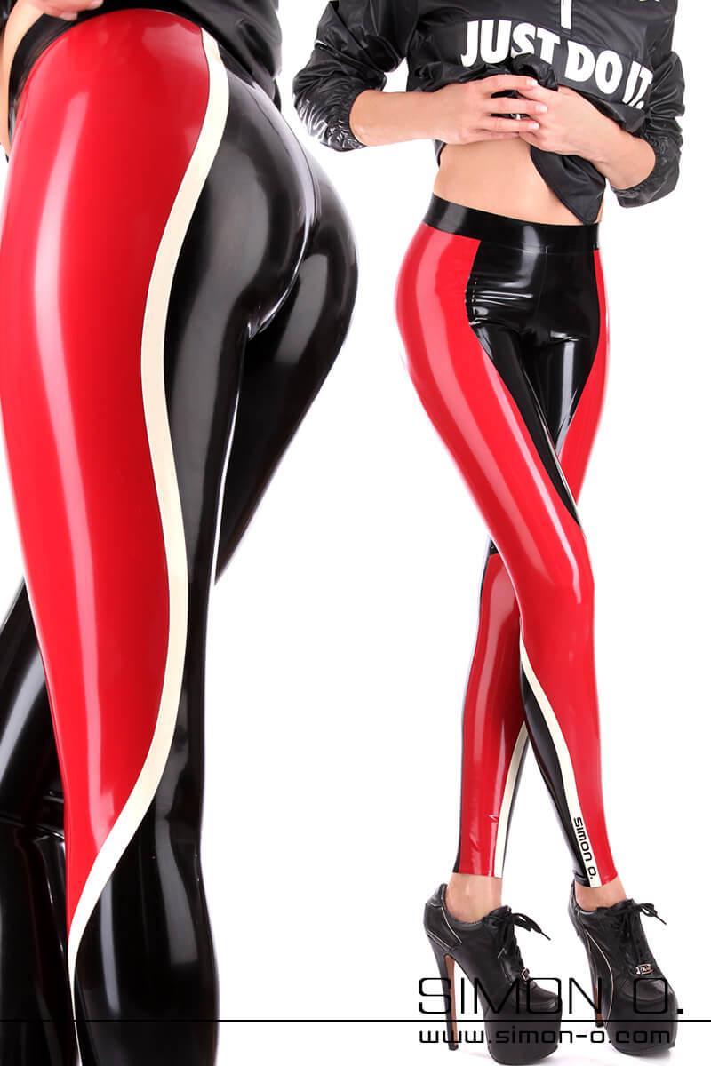 Women Latex Leggings Individually Manufactured By Simon O