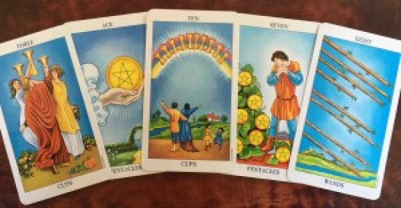 Waite-Smith Tarot - Minor Arcana Cards.