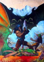 Slaine : The Horned God (panel)