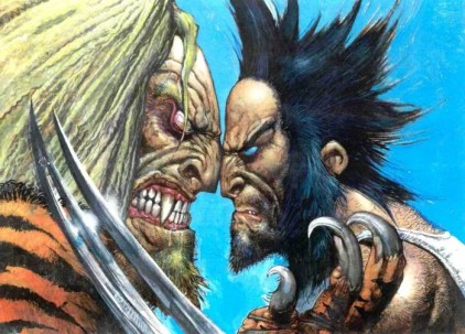 Sabretooth v Wolverine